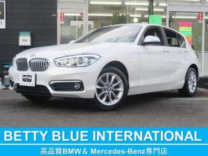 BMW 1シリーズ 118d スタイル 1オナ 新車保証 インテリジェントセーフティー ハーフ革シート 純正HDDナビ DVD CD MSV Bカメラ ミラーETC 16AW LEDライト レーンディパーチャーウォーニング ECOストップ 8速AT