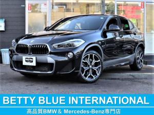 BMW X2 xDrive 20i MスポーツX 1オナ ACC 新車保証 アルカンタラコンビPシート/ヒーター 純正HDDナビ Bカメラ ヘッドアップディスプレイ Mエアロ/19AW LEDライト ACC レーンディパーチャーウォーニング 衝突軽減B Pトランク