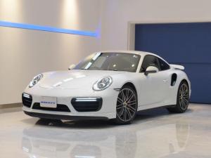 ポルシェ 911 911ターボ 1オーナー車 黒赤2トーンレザー スポーツクロノPKG PASM LEDヘッドライト シートヒーター 電動格納ミラー BOSEオーディオ 14way電動シート GTスポーツステアリング Rカメラ