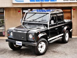 ランドローバー ディフェンダー 110ダブルキャブピックアップ 50台限定BLACK ディーラー車 右ハンドル