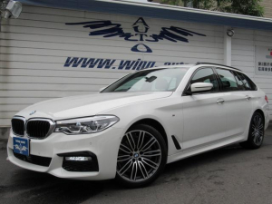 BMW 523iツーリング Mスポーツ ACC 衝突軽減 19AW
