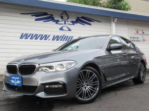 BMW 5シリーズ 530e Mスポーツ ベージュ革 ACC 衝突軽減 地デジ