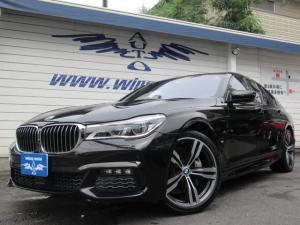 BMW 7シリーズ 740e Mスポーツ 黒革 SR レーザーライト 20AW