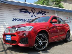 BMW X4 xDrive 35i Mスポーツ ベージュ革 SR 20AW