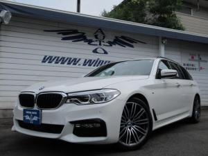 BMW 5シリーズ 530iツーリング Mスポーツ 黒革 ACC 衝突軽減