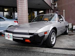 フィアット X1/9 1500キャブ ワンオーナー ディーラー車 フルオリジナル