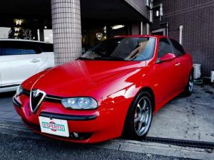 アルファロメオ アルファ156 GTA 3.2 V6 24V ナローボディ改造 等長フロントパイプ ステンマフラー SSR製17インチ軽量アルミ