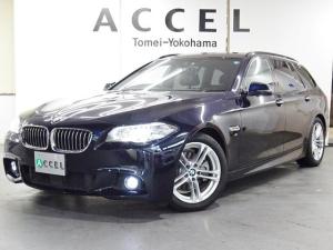 BMW 5シリーズ 523iツーリング Mスポーツ ハイラインパッケージ 最終型 ACC レーンチェンジ 電動テールゲート 純正ナビTVカメラ