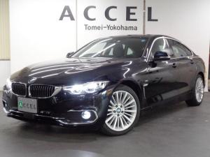 BMW 4シリーズ 420iグランクーペ ラグジュアリー 黒革 ACC LED