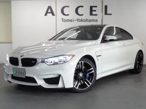 BMW M4 M4クーペ 6速マニュアル カーボンルーフ ブラックレザーシート&ヒーター 6速MT 純正HDDナビ&TV バックカメラ コンフォートアクセス LEDヘッドライト レーンチェンジウォーニング 純正19インチアルミ