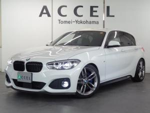 BMW 1シリーズ 118d Mスポーツ ACC インテリジェントセーフティ H&Rスプリング 純正HDDナビ バックカメラ コンフォートアクセス Mスポーツエアロ&18インチアルミ ワンオーナー