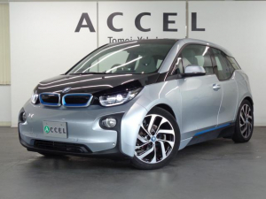 BMW i3 レンジ・エクステンダー装備車 ACC 純正HDDナビ バックカメラ ハーフレザーシート コンフォートアクセス 純正19インチアルミ LEDヘッドライト
