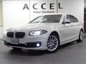 BMW 5シリーズ 523d ラグジュアリー レザーシート&ヒーター ACC 純正HDDナビ&TV バックカメラ PDC ドライビングアシスト コンフォートアクセス LEDヘッドライト 純正18インチアルミ