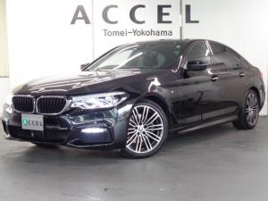 BMW 5シリーズ 523d Mスポーツ ワンオーナー ACC トップビューカメラ コンフォートアクセス LEDヘッドライト 純正HDDナビ&TV M-スポーツ純正19インチアルミ 禁煙車
