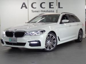 BMW 5シリーズ 523dツーリング Mスポーツ ブラックレザーシート&ヒーター ACC トップビューカメラ 純正HDDナビ&TV コンフォートアクセス 電動テールゲート LEDヘッドライト M-スポーツ純正19インチアルミ 禁煙車