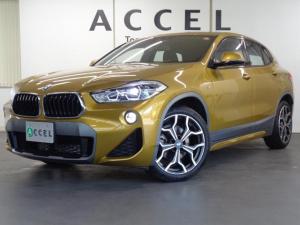 BMW X2 sDrive 18i MスポーツX 専用スポーツシート&ヒーター 純正HDDナビ バックカメラ コンフォートアクセス 電動テールゲート LEDヘッドライト