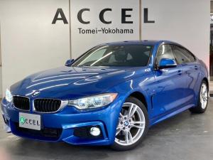 BMW 4シリーズ 420iグランクーペ Mスポーツ ACC 純正ナビ バックカメラ コンフォートアクセス 電動テールゲート LEDヘッドライト ドライビングアシスト 純正18インチアルミ ワンオーナー 禁煙車