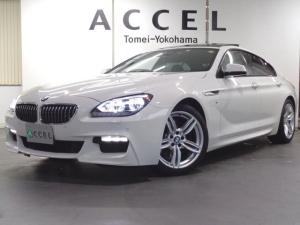BMW 6シリーズ 640iグランクーペ Mスポーツ サンルーフ ブラックレザーシート&ヒーター 純正HDDナビ バックカメラ コンフォートアクセス ワンオーナー LEDヘッドライト 19インチアルミ 禁煙車