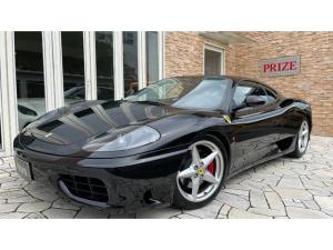 フェラーリ 360 モデナ ディーラー車 スポーツシート