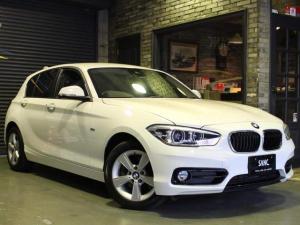 BMW 1シリーズ 118dスポーツ 禁煙 ナビ 衝突軽減Bコンフォートアクセス