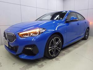 BMW 2シリーズ 218dグランクーペ Mスポーツエディションジョイ+ Mスポーツ ミサノブルー アクティブクルーズコントロール ナビパッケージ HDDナビゲーション 電動シート バックカメラ Bluetooth LEDヘッドライト ETC2.0