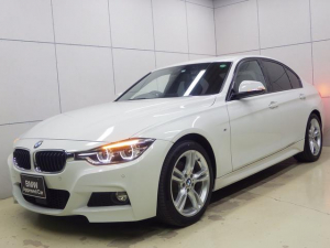 BMW 3シリーズ 320d Mスポーツ Mスポーツ ブラックレザー 電動シート アクティブクルーズコントロール LEDヘッドライト HDDナビゲーション バックカメラ 障害物センサー Bluetooth ETC2.0