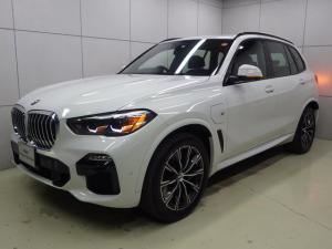 BMW X5 xDrive 45e Mスポーツ ブラックレザー コンフォートパッケージ 電動シートマッサージ機能付 電動トランク アクティブクルーズコントロール HDDナビゲーション バックカメラ Bluetooth ETC2.0