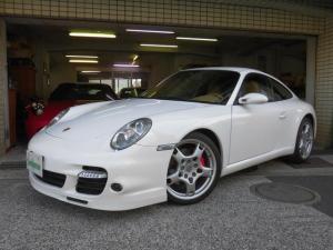ポルシェ 911 911カレラS ベージュ革 ターボバンパー 2006yモデル