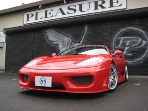 フェラーリ 360 モデナ・D車・6MT・フルエアロ・マフラー