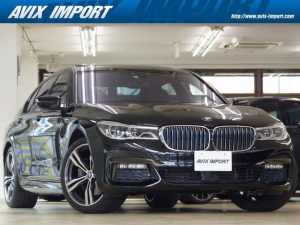 BMW 7シリーズ 740eアイパフォーマンス Mスポーツ Mスポーツ 黒革 SR HDDナビ地デジTOP&3Dビュー ハーマンカードン Dアシストプラス ACC HUD 全席Sヒーター 前席ベンチレーション 自動トランク ソフトクローズドア 20AW 禁煙