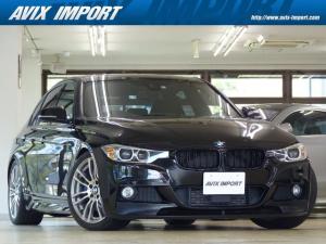 BMW 3シリーズ 328i Mスポーツ アルカンタラシート 純正HDDナビ地デジBカメラ Bluetooth タッチパッド ハーマンカードン HUD ACC LCW 衝突警告 Cアクセス プッシュスタート アイドリングS 19AW 禁煙