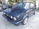 フォルクスワーゲン/VW ゴルフカブリオレ クラシックライン 幌交換済 タイベル交換済 限定車 黒革