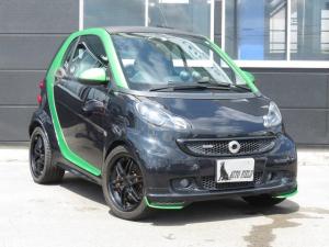 スマートフォーツーエレクトリックドライブ BRABUS 80台限定車  electric drive 専用スタイリングパッケージ シートヒーター付き ホワイトステッチ入り 本革シート