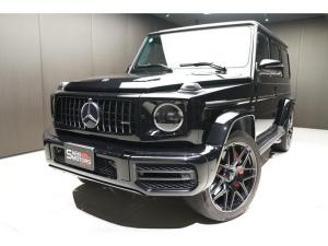 メルセデスAMG Gクラス G63 2019年モデル 正規ディーラー車 ナイトパッケージ仕様 22インチAW 赤革 LHD