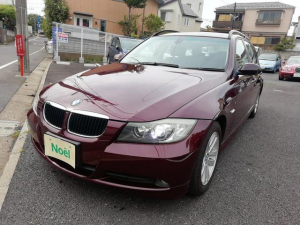 BMW 3シリーズ 320iツーリング ディーラー車 パワーシート ETC ナビ 電動格納ミラー HID