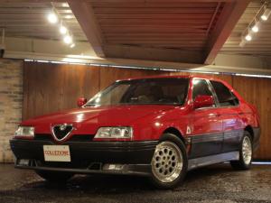 アルファロメオ アルファ164 Q4 ディーラー車 左ハンドル 6速MT