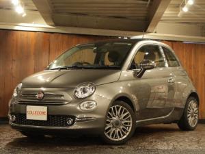 フィアット 500 ジェニオ 150台限定車 ディーラー車 1オーナー 右ハンドル 5速AT車 ポルトローナフラウ製ブラックレザーシート 専用16AW ガラスルーフ