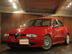 アルファロメオ アルファ156 2.5 V6 24V Qシステム ディーラー車 右ハンドル 4速AT車 ナチュラルレザーシート OZ製17AW サンルーフ