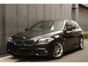 BMW 5シリーズ 523iツーリング Mスポーツパッケージ 純正ナビ 地デジ M純正18インチ ルーフレールブラック
