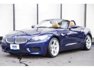 BMW Z4 sDrive35i Mスポーツ 希少ディープシーブルー ウォルナットレザー HDDNAVI ETC Mスポーツ 18AW HID 3Lツインターボ搭載の306馬力 シートヒーター