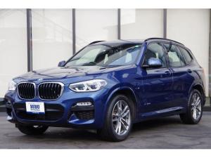 BMW X3 xDrive 20d Mスポーツ パノラマサンルーフ 前後PDC ACC LDW BSM シートヒーター 純正HDDナビ 地デジ LEDヘッドライト パワーテールゲート コンフォートアクセス 純正19AW ワイヤレス充電 ミラーETC