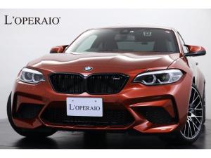 BMW M2 コンペティション 1オナ 正規D車 新車保証継承 黒革シート