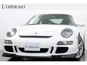 ポルシェ 911 911GT3 クラブスポーツPKG スポーツクロノPKG PASM 純正19インチAW 赤キャリパー キセノン フルバケットシート アルカンターラステアリング&シフトノブ 社外HDDナビ バックカメラ ロールケージ