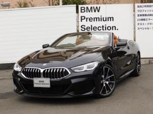 BMW 8シリーズ M850i xDriveカブリオレ 元弊社試乗車レザーシート