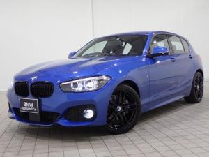 BMW 1シリーズ 118i Mスポーツ エディションシャドー アクティブクルーズコントロール ブラックレザーシート トリムブラック