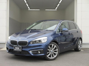 BMW 2シリーズ 218iアクティブツアラー ラグジュアリー ベージュレザーシート・シートヒーター・バックカメラ・パーキングセンサー・18AW