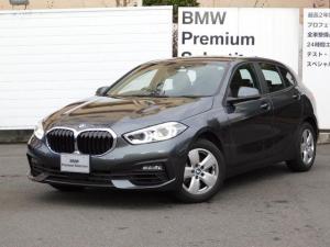 BMW 1シリーズ 118i 弊社レンタアップ車・純正ナビ・バックカメラ・16インチAW