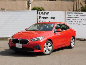 BMW 2シリーズ 218iグランクーペ プレイ 認定中古車 追従型クルーズコントロール 衝突軽減安全ブレーキ LEDヘッドライト