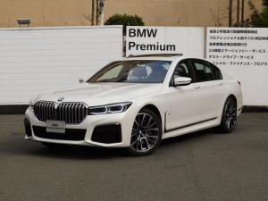 BMW 7シリーズ 750i xDrive Mスポーツ 弊社デモカー・リモートパーキング・ディスプレイキー・コンフォートシート