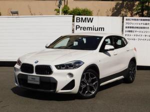 BMW X2 sDrive 18i MスポーツX 追従式クルコン・電動リアゲート・19AW・弊社レンタカーアップ